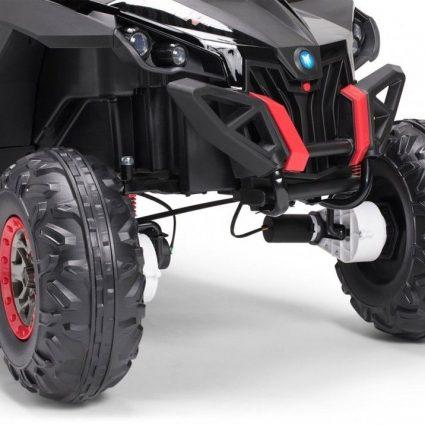 Электромобиль Buggy XMX603 MP4 камуфляж (сенсорный дисплей, 2х местный, полный привод, резина, кожа, пульт, музыка)